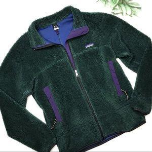PATAGONIA | sz S Green retro x fleece